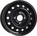 Колесный диск ТЗСК UAZ-Patr. 6,5\R16 5*139,7 ET40 d108,5 черный глянец (УТ-00001219)