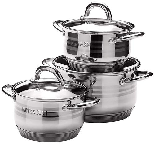 Набор посуды MAYER-BOCH 25668 (6 предметов)