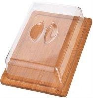 Сырница с крышкой MAYER-BOCH 26,5 см, бамбук (27346)