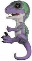 Интерактивный динозавр FINGERLINGS Рейзор, фиолетовый/темно-зеленый, 12 см (3784)