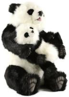 Мягкая игрушка HANSA-CREATION Панда с детенышем, 75 см (5495) hansa мягкая игрушка hansa экзотические животные коала с детенышем 28 см