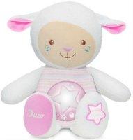 Музыкальная игрушка-ночник Chicco Овечка Lullaby, розовая (00009090100000)