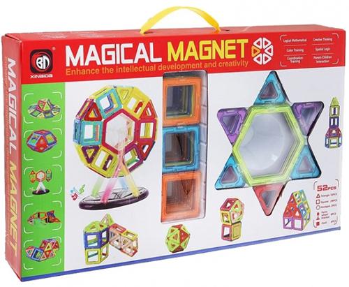Конструктор детский Наша Игрушка 703 магнитный 3D