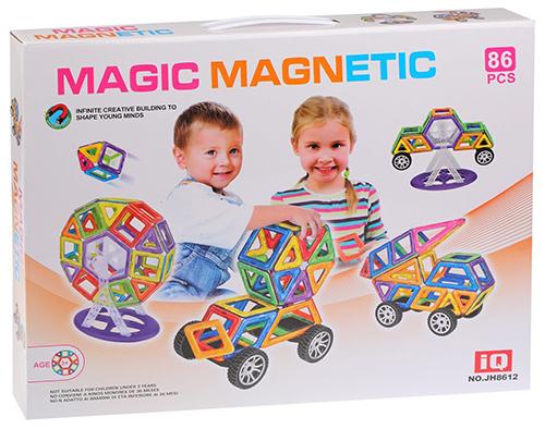 Конструктор магнитный Наша Игрушка 86 деталей (200594776)