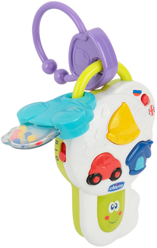 """Интерактивная игрушка Chicco """"Говорящие ключи"""" (00000995000180)"""