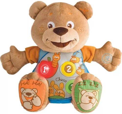 Интерактивная игрушка Chicco Говорящий Мишка Teddy (00060014000180)