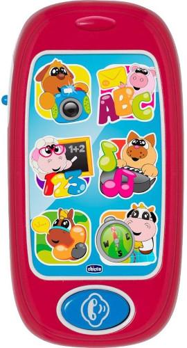 Интерактивная игрушка Chicco Говорящий смартфон ABC (00007853000180)