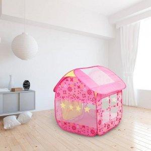 """Игровая палатка СИМАЛЕНД """"Дом принцессы"""" (442240) - купить игру на воздухе СИМАЛЕНД """"Дом принцессы"""" (442240) по выгодной цене в интернет-магазине ЭЛЬДОРАДО"""