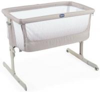 манеж кровать chicco next2me air макс 9кг бежевый от 0 мес до 6 мес 05079620340000 Кроватка Chicco Next2Me Air, Dark Beige