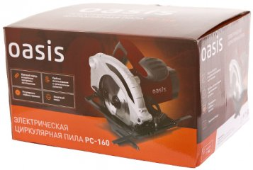 Электропила Циркулярная Oasis Pc-160