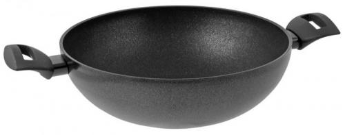 Сковорода-вок TIMA TVS Titan Diamond, 28 см, 2 ручки (TD-4128)