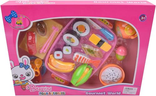 Набор игрушечных продуктов Наша Игрушка 25 предметов (228E12-9)