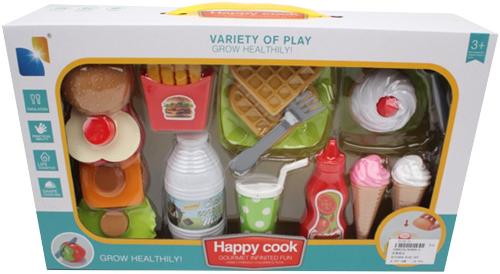 Набор игрушечных продуктов Наша Игрушка 13 предметов (8088A-6)