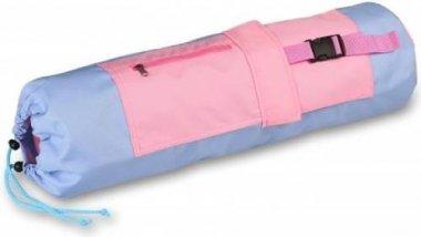 Чехол для коврика с карманами Indigo 69x18 см, голубо-розовый (SM-369)
