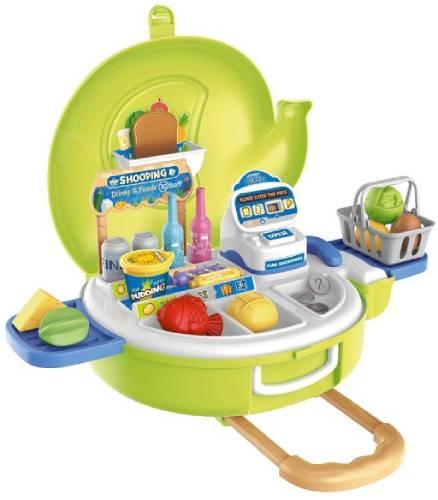 """Детский игровой набор BESTLIKE """"Супермаркет"""", 30 предметов, в чемодане (8768)"""