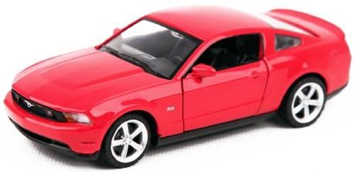 Инерционная машинка BESTLIKE Ford Mustang GT, 1:32, металлическая, красная (32307B)