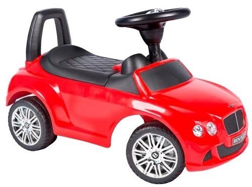 Машинка-каталка BESTLIKE Bentley, со звуком, до 23 кг, красная (326)