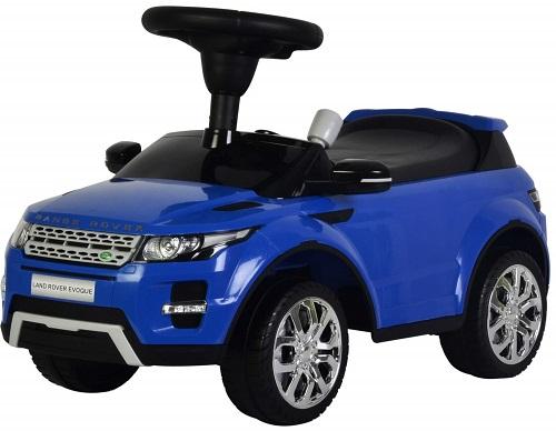 Машинка-каталка BESTLIKE Land Rover, до 23 кг, синяя (348)