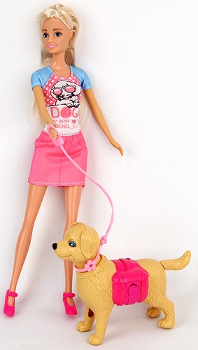 Кукла BESTLIKE с питомцем и аксессуарами (99123)