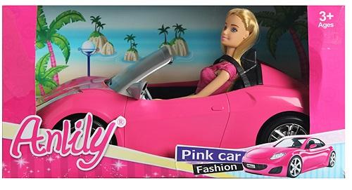 Кукла BESTLIKE с автомобилем (99206)