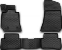 набор автомобильных ковриков klever для mercedes benz e klasse w212 акпп 2014 седан в салон 4 шт kvr02343801210kh Коврики в салон Element 3D Mercedes E-Class W212, 2009-2016, седан, 4 шт (NLC.3D.34.42.210k)