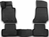 набор автомобильных ковриков klever для mercedes benz e klasse w212 акпп 2014 седан в салон 4 шт kvr02343801210kh Коврики в салон Element 3D Mercedes С-Class W205, 2014+, седан, 4 шт (NLC.3D.34.32.210k)