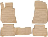 набор автомобильных ковриков klever для mercedes benz e klasse w212 акпп 2014 седан в салон 4 шт kvr02343801210kh Коврики в салон Element Mercedes E-Class W212 2009-2016, 4 шт, бежевые (NLC.34.16.212k)