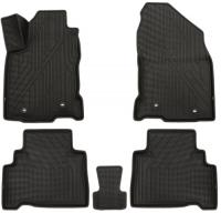 багажные дуги поперечины fresh для lexus nx 2015 г в по н в Коврики в салон KVEST Lexus NX, 2014+, 5 шт, черные/серые (KVESTLEX00003K1)
