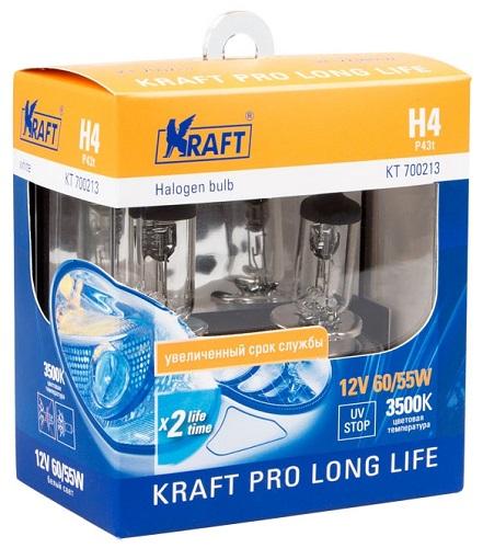 Автомобильные лампы Kraft