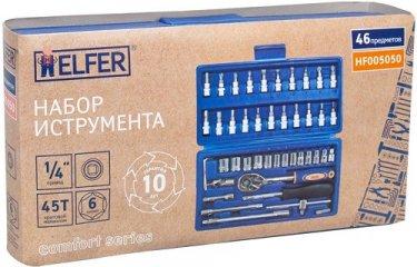 Набор Ручного Инструмента Helfer 1/4'', 46 Предметов (Hf005050)