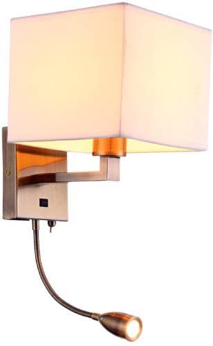 Светильник настенный Arte Lamp Hall (A9249AP-2AB)