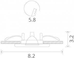 Светильник Потолочный Arte Lamp Praktisch (A1203Pl-1Wh)