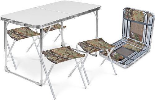 Набор складной мебели NIKA металл (ССТ-К2/1)