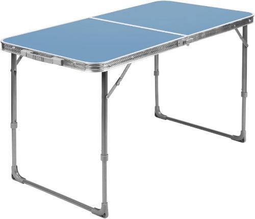 Стол складной для кемпинга NIKA голубой (ССТ-3/4)