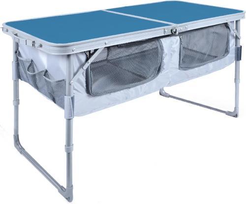 Стол складной для кемпинга NIKA голубой (ССТ-3П/4)