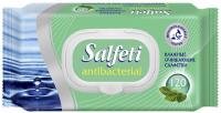 влажные салфетки авангард salfeti антибактериальные с клапаном 72 шт Влажные антибактериальные салфетки Salfeti 120 шт, с клапаном (30646)