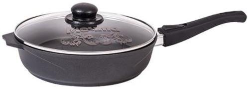 Сковорода с крышкой Мечта Престиж, 24 см, съемная ручка (с024506)