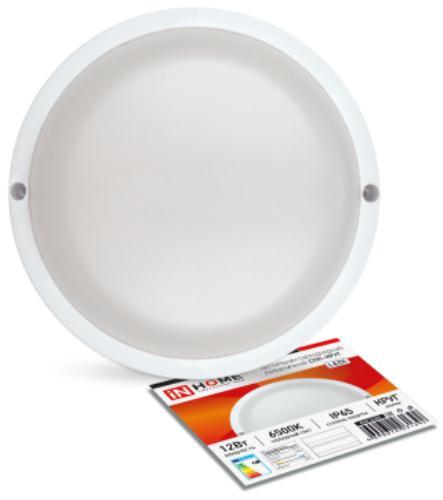 Светильник промышленный IN-HOME СПП-КРУГ 12Вт 230В 6500К 960Лм IP65