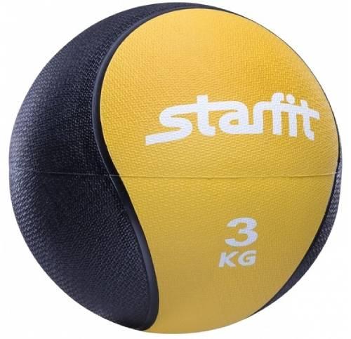 Медбол STARFIT Pro GB-702, 3 кг, желтый (УТ-00007300)