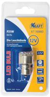 Лампа автомобильная Kraft P21W BA15s 12/24v 12 LEDs White (KT 700063) лампа автомобильная светодиодная kraft p21w 12 24v 1 5w kt 700063 1 шт