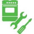 Установка электрической плиты