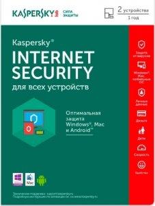 Антивирус KASPERSKY Internet Security Multi-Device 2ПК/1Г