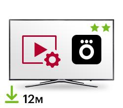 Цифровой пакет Smart TV + Okko / Megogo 12 месяцев