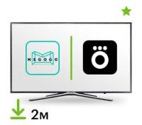 Цифровой пакет Smart TV + Okko / Megogo 2 месяца
