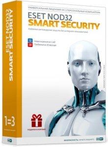 Антивирус ESET NOD32 Smart Security 1 год