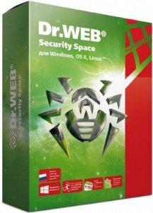 Антивирус DR.WEB Security Space 1ПК/2Г