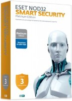 Антивирус ESET NOD32 Smart Security 3ПК/2Г