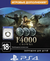Игровая валюта BETHESDA THE ELDER SCROLLS ONLINE - 14000 CROWNS