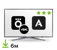Цифровой пакет Smart TV + Okko & Amediateka 6 месяцев + 4K