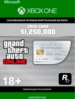 Игровая валюта GTA V Great White Shark Card $1,250,000 (Xbox One)